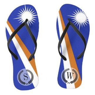 Marshall Islands Flag Thongs