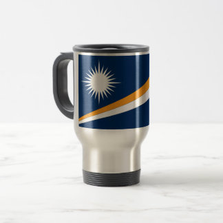 Marshall Islands Flag Travel Mug
