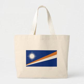 Marshall Islands National Flag Jumbo Tote Bag