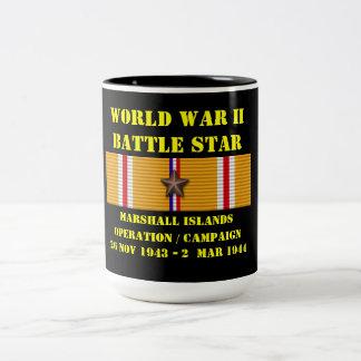Marshall Islands Operation Campaign Two-Tone Mug
