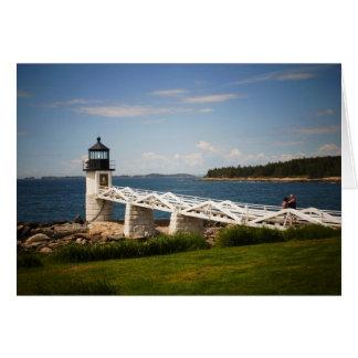 Marshall Point Light Card
