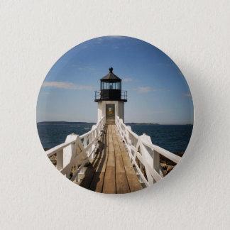Marshall Point Lighthouse 6 Cm Round Badge