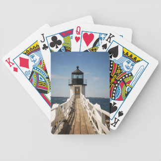 Marshall Point Lighthouse Bicycle Playing Cards