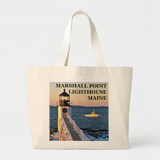 Marshall Point Lighthouse, Maine Jumbo Tote Bag