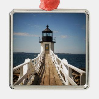 Marshall Point Lighthouse Metal Ornament
