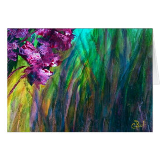 """Marshland Flowers"" Art Card"