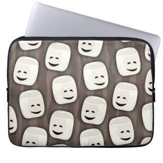Marshmallow Friends Together Laptop Sleeve