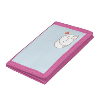 Marshmallow Love Trifold Wallets