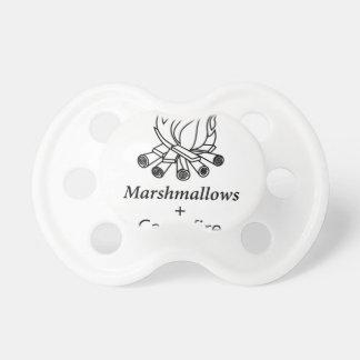 Marshmallows + Campfire = Yay! Dummy