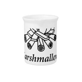 Marshmallows + Campfire = Yay! Pitcher