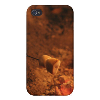 Marshmallows on fire iPhone 4 Speck Case iPhone 4 Covers