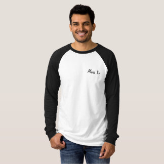MarsTv plain baseball shirt