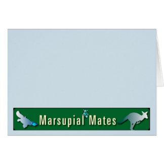 Marsupial Mates Notecards Card