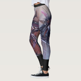 Marta Abstract Painting 3 Leggings