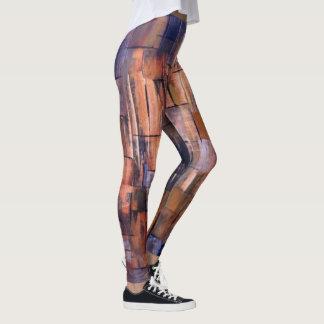 Marta Abstract Painting 8 Leggings