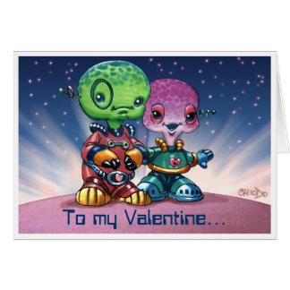 Marteenie Valentine Card