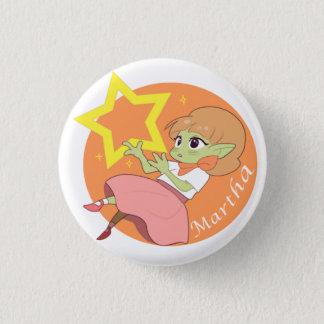 Martha 3 Cm Round Badge