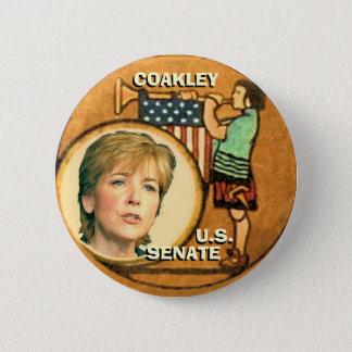 Martha Coakley Retro Button