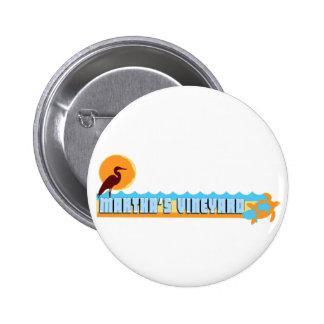 Martha s Vineyard Beach Design Pins