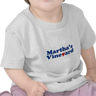 Martha s Vineyard with Heart Tee Shirt