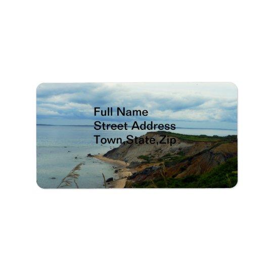 Martha's Vineyard Address Label