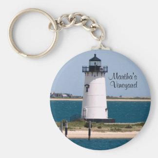 Martha's Vineyard Edgartown Lighthouse Keychain