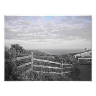 Martha's Vineyard in black and white Photo Print