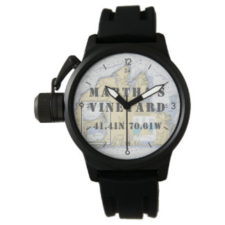 Martha's Vineyard Latitude Longitude Boater's Watch