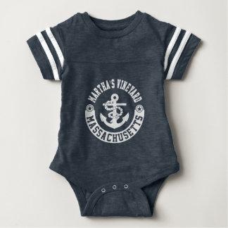 Martha's Vineyard Massachusetts Baby Bodysuit