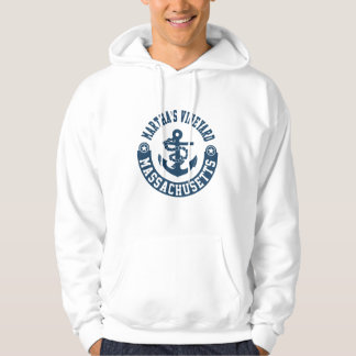 Martha's Vineyard Massachusetts Hoodie