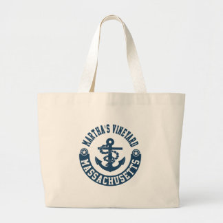 Martha's Vineyard Massachusetts Large Tote Bag