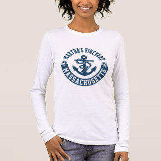 Martha's Vineyard Massachusetts Long Sleeve T-Shirt