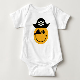 Martha's Vineyard Pirate Baby Body Suit Baby Bodysuit