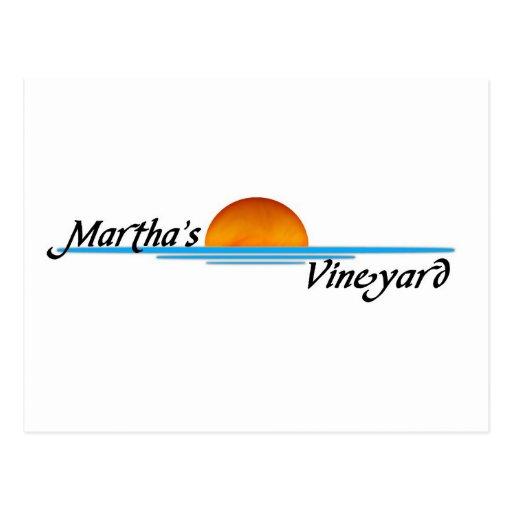 Marthas Vineyard Post Card