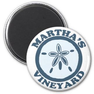 "Martha's Vineyard ""Sand Dollar"" Design. Magnet"