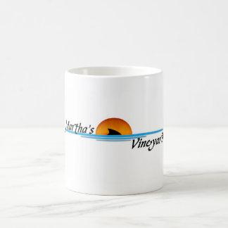 Marthas Vineyard Shark Basic White Mug