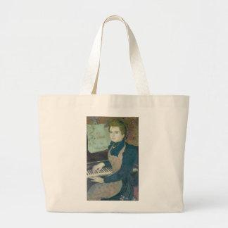 Marthe at the Piano, 1891 Jumbo Tote Bag