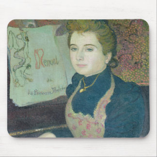 Marthe at the Piano, 1891 Mouse Pad