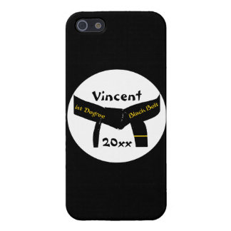 Martial Arts 1st Degree Black Belt iPhone 5/5S Cases