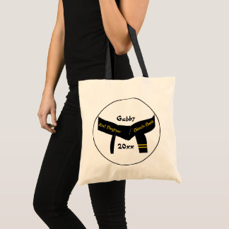 Martial Arts 2nd Degree Black Belt Tote Bag