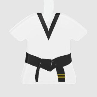 Martial Arts 3rd Degree Black Belt Uniform Dated