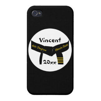 Martial Arts 4th Degree Black Belt iPhone 4/4S Cover