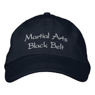 Martial Arts Black Belt Hat