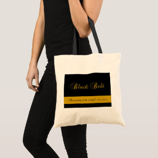 Martial Arts Black Belt Journey Tote Bag