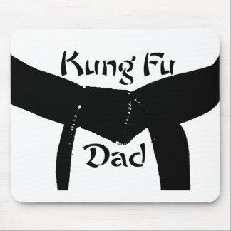 Martial Arts Black Belt Kung Fu Dad Mouse Pad