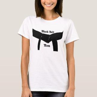 Martial Arts Black Belt Mom T-Shirt