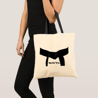 Martial Arts Black Belt Tote Bag
