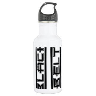 Martial Arts Bold Black Belt 532 Ml Water Bottle
