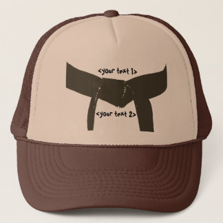Martial Arts Brown Belt Trucker Hat
