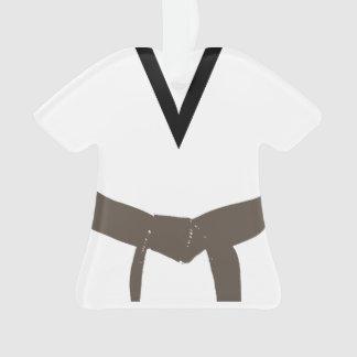 Martial Arts Brown Belt Uniform